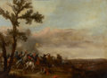 Fine Art - Painting, European:Antique  (Pre 1900), JAN ASSELIJN (Dutch, c. 1610-1652). Battle Scene, 1635. Oilon canvas. 26 x 35 inches (66.0 x 88.9 cm). Signed and dated...