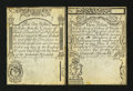 Colonial Notes:Rhode Island, Rhode Island August 22, 1738 1s and 3s Examples Choice AboutNew.... (Total: 2 notes)