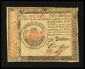 Colonial Notes:Continental Congress Issues, Continental Currency January 14, 1779 $50 About New....