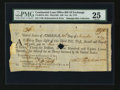 Colonial Notes:Continental Congress Issues, Continental Loan Office Bill of Exchange. Third Bill. $36.US-98/PA-10A. PMG Very Fine 25....