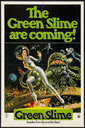 "Movie Posters:Science Fiction, The Green Slime (MGM, 1969). One Sheet (27"" X 41"") Advance. Science Fiction.. ..."