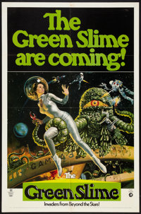 "The Green Slime (MGM, 1969). One Sheet (27"" X 41"") Advance. Science Fiction"