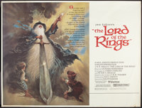 "The Lord of the Rings (United Artists, 1978). Subway (41"" X 54""). Animated"