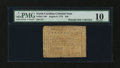 Colonial Notes:North Carolina, North Carolina August 8, 1778 $40 PMG Very Good 10....