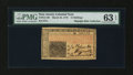 Colonial Notes:New Jersey, New Jersey March 25, 1776 15s PMG Choice Uncirculated 63 EPQ....