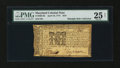 Colonial Notes:Maryland, Maryland April 10, 1774 $2/9 PMG Very Fine 25 Net....