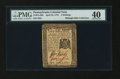 Colonial Notes:Pennsylvania, Pennsylvania April 25, 1776 2s PMG Extremely Fine 40....