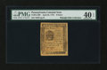 Colonial Notes:Pennsylvania, Pennsylvania April 25, 1776 9d PMG Extremely Fine 40 EPQ....