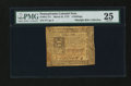 Colonial Notes:Pennsylvania, Pennsylvania March 25, 1775 4s PMG Very Fine 25....