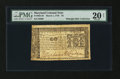 Colonial Notes:Maryland, Maryland March 1, 1770 $2 PMG Very Fine 20 Net....
