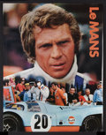 """Movie Posters:Sports, Le Mans (National General, 1971). Gulf Promotional Poster (17"""" X22""""). Sports.. ..."""