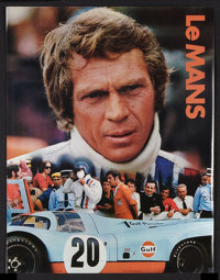 "Le Mans (National General, 1971). Gulf Promotional Poster (17"" X 22""). Sports"