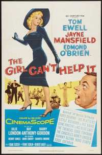 "The Girl Can't Help It (20th Century Fox, 1957). One Sheet (27"" X 41""). Comedy"