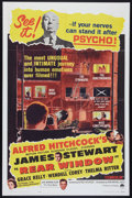 """Movie Posters:Hitchcock, Rear Window (Paramount, R-1962). One Sheet (27"""" X 41""""). Hitchcock.. ..."""