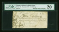 Colonial Notes:North Carolina, North Carolina March 9, 1754 40s PMG Very Fine 20....