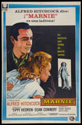 """Movie Posters:Hitchcock, Marnie (Universal International, 1964). Argentinean Poster (28"""" X 43""""). Hitchcock.. ..."""