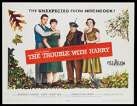 """The Trouble With Harry (Paramount, 1955). Half Sheet (22"""" X 28""""). Hitchcock"""