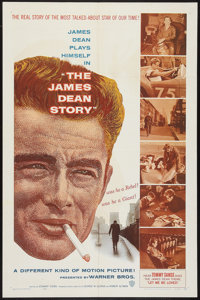 "The James Dean Story (Warner Brothers, 1957). One Sheet (27"" X 41""). Documentary"