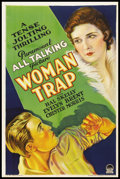 "Movie Posters:Crime, Woman Trap (Paramount, 1929). One Sheet (27"" X 41"") Style A.Crime.. ..."