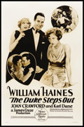 """Movie Posters:Sports, The Duke Steps Out (MGM, 1929). Rotogravure One Sheet (27"""" X 41"""").Sports.. ..."""