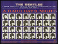 "Movie Posters:Rock and Roll, A Hard Day's Night (United Artists, 1964). British Quad (30"" X40""). Rock and Roll.. ..."