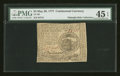 Colonial Notes:Continental Congress Issues, Continental Currency May 20, 1777 $4 PMG Choice Extremely Fine 45EPQ....