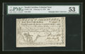 Colonial Notes:South Carolina, South Carolina February 8, 1779 $60 PMG About Uncirculated 53....