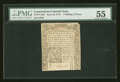 Colonial Notes:Connecticut, Connecticut June 19, 1776 1s/6d Uncanceled PMG About Uncirculated55....