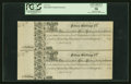 Colonial Notes:Maryland, Maryland 1733 15s Vertical Pair PCGS Choice About New 58....