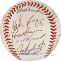 Autographs:Baseballs, 1991 Boston Red Sox Team Signed Baseball. ...