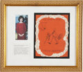 """Political:Presidential Relics, [John F. Kennedy] Jacqueline Kennedy's Handmade """"Thank You"""" Card for Clark Clifford...."""