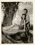 "Movie Posters:Adventure, Johnny Weissmuller and Maureen O'Sullivan in ""Tarzan's Secret Treasure"" (MGM, 1941). Still (8"" X 10"").. ..."