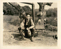 """Buster Keaton in """"The Balloonatic"""" (First National, 1923). Keybook Still (8"""" X 10"""")"""