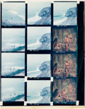 """Movie Posters:Science Fiction, Charlton Heston, Linda Harrison, and Maurice Evans in """"Planet ofthe Apes"""" (20th Century Fox, 1968). Color Proof Sheet (8"""" X..."""