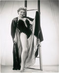 "Movie Posters:Drama, Anne Baxter in ""Carnival Story"" by Ernest Bachrach (RKO, 1954). Still (7.5"" X 9.5"").. ..."