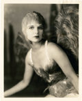 "Movie Posters:Crime, Louise Brooks in ""The Canary Murder Case"" by George Hommel(Paramount, 1929). Portrait Photo (8"" X 10"").. ..."