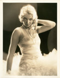 """Movie Posters:Crime, Virginia Bruce in """"Slightly Scarlet"""" by Otto Dyar (Paramount,1930). Portrait Still (11"""" X 14.25"""").. ..."""