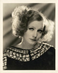 "Movie Posters:Romance, Greta Garbo in ""Inspiration"" by Clarence Sinclair Bull (MGM, 1931).Portrait Still (8"" X 10"").. ..."