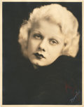 "Movie Posters:Miscellaneous, Jean Harlow by Mitchell Studios (1932). Portrait (11"" X 14"").. ..."