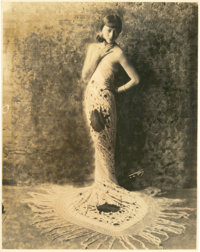 "Anna May Wong by Edward Curtis Studio (1920s). Portrait (7.5"" X 9.5"")"