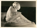 "Movie Posters:Miscellaneous, Jean Harlow by Harvey White (MGM, 1932). Portrait Still (10"" X13"").. ..."