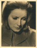 "Movie Posters:Drama, Greta Garbo in ""Queen Christina"" by Clarence Sinclair Bull (MGM,1933). Portrait (10"" X 13"").. ..."