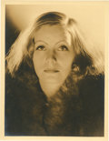 "Movie Posters:Drama, Greta Garbo by Clarence Sinclair Bull (MGM, Early 1930s). PortraitStill (10"" X 13"").. ..."