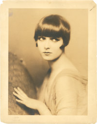 "Louise Brooks in ""The American Venus"" by Edward Thayer Monroe (Paramount, 1926). Portrait Still (11"" X 14..."