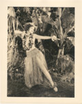 "Movie Posters:Romance, Clara Bow in ""Hula"" by Otto Dyar (Paramount, 1927). Portrait Still(11"" X 14"").. ..."