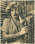 "Movie Posters:Drama, Joan Crawford in ""Rain"" (United Artists, 1932). Portrait (11"" X13.75"").. ..."