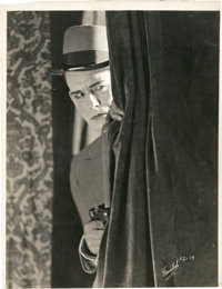 "Lon Chaney in ""Outside the Law"" by Jack Freulich (Universal, 1920). Keybook Still (7.5"" X 9.75"")..."
