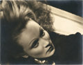 "Movie Posters:Miscellaneous, Marlene Dietrich by George Hurrell (Paramount, 1930s). PortraitStill (10.5"" X 13.5"").. ..."