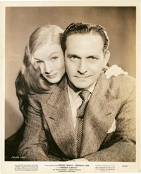 "Veronica Lake and Fredric March in ""I Married a Witch"" (United Artists, 1942). Portrait Still (8"" X 10&qu..."