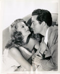 """Movie Posters:Musical, Rita Hayworth and Larry Parks in """"Down to Earth"""" by Ned Scott (Columbia, 1947). Still (8"""" X 10"""").. ..."""
